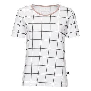 Squared TT64 T-Shirt Damen schwarz/weiß Bio & Fair - THOKKTHOKK