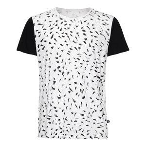 Feather TT65 T-Shirt Herren schwarz/weiß Bio & Fair - ThokkThokk
