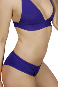 Recycling Bikinihose 'Lorelow' uni indico - Frija Omina