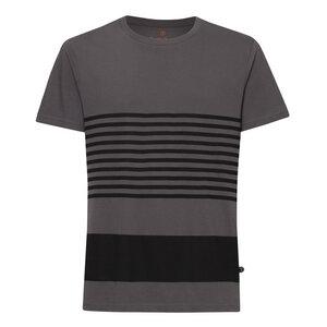 Crosswalk TT02 T-Shirt Herren schwarz/dunkelgrau Bio & Fair - THOKKTHOKK