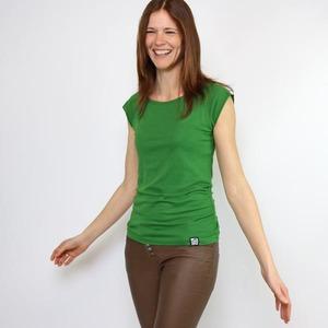 Bambus Shirt Basic Grün - Gary Mash