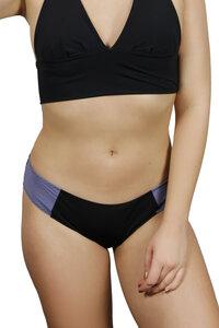 Recycling Bikinihose 'Lorelow' schwarz/ grau - Frija Omina
