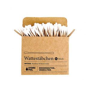 Bambus Wattestäbchen 100 Stk. - HYDROPHIL