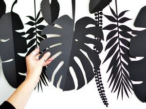 Dschungel Tropen Blätter für die Wand - renna deluxe