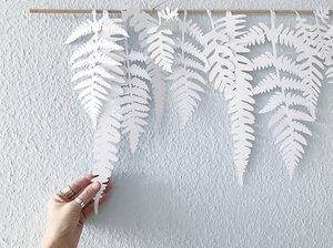 FARN Blätter Wanddekoration - renna deluxe