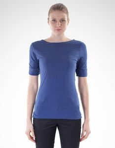 Rebecca T-Shirt / 0072 Eukalyptus & Bio-Baumwolle / Minimal - Re-Bello