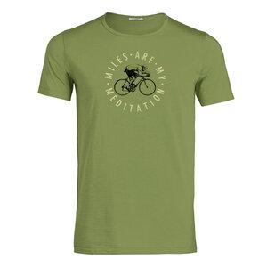 T-Shirt Adores Slub Bike Meditation - GreenBomb