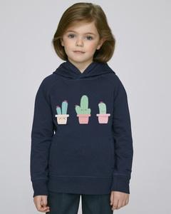 Hoodie mit Motiv / Happy Cactus - Kultgut
