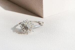 Ausgefallener Ring  aus 925er Sterling Silber - LUXAA