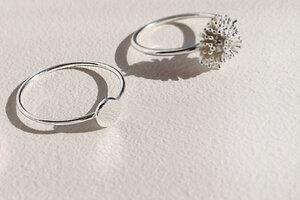 Feiner Ring mit Scheibe aus 925er Sterling Silber - LUXAA