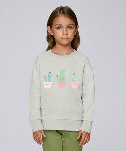 Sweatshirt mit Motiv / Happy Kaktus  - Kultgut