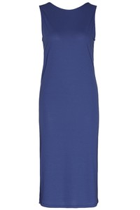 Back layered mididress - smart cobalt - Wunderwerk