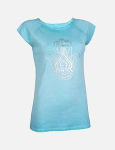 T-SHIRT PIGMENT DYED HAMSA - OGNX