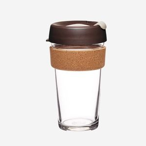 Coffee2Go Cork Almond - large - KeepCup