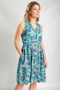 Lola Floral Print Tea Kleid - bibico