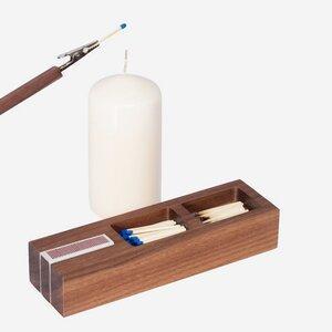Feuerzeuge Set Box Nuss - designimdorf