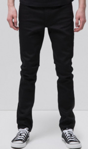 Lean Dean Dry Ever Black - Nudie Jeans