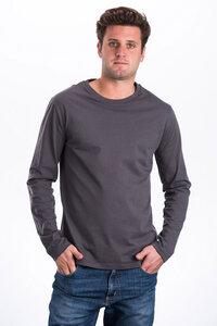 DRACO, Bio Longsleeve für Männer - Green-Shirts