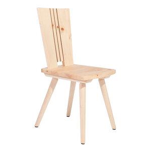 Stuhl aus Zirbenholz  - Handarbeit aus Südtirol  - 4betterdays