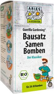 Aries Bausatz Samen Bomben mit Bio-Saatgut - ARIES