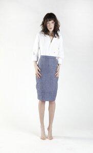 Pencil Skirt Capsule blau - Y/O/U