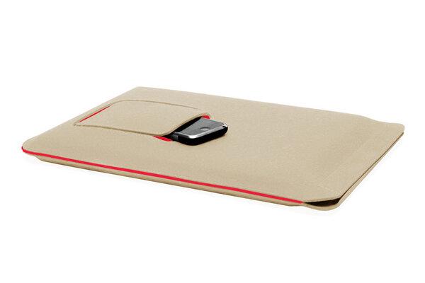 redmaloo laptop h lle aus filz 15 zoll avocadostore. Black Bedroom Furniture Sets. Home Design Ideas
