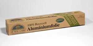If You Care - Aluminiumfolie 100% recycelt - If You Care (IYC)