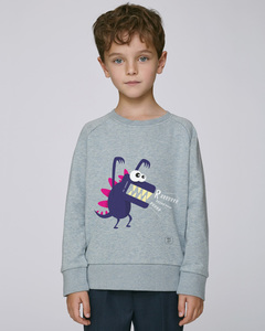 Sweatshirt mit Motiv / Little Monster  - Kultgut