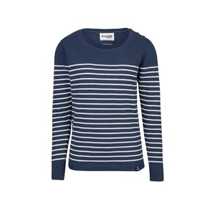 Perfect Breton Sweater - blau/weiß - Blue LOOP Originals