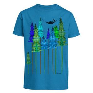 Kinder T-Shirt Wood Girl Bio Fair - FellHerz
