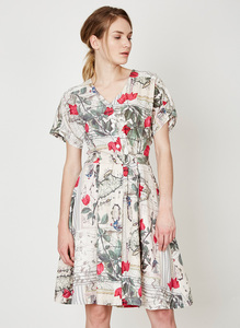 Voyage De Jeanne Dress - Thought