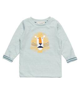 Baby Langarm Shirt mint mit Print 100% Bio Baumwolle Sense Organics - sense-organics
