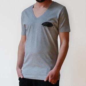 Herren T-Shirt Gunnar Assel V-Neck - Cmig