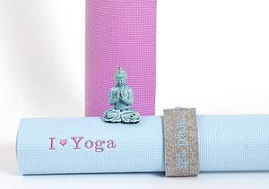 Bandini - Filzbanderole für die Yogamatte, Trageband - Djou-Djou