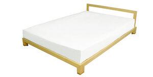 Vollholz-Bett inklusive innovativem Lattenrost im alvari-Design - alvari