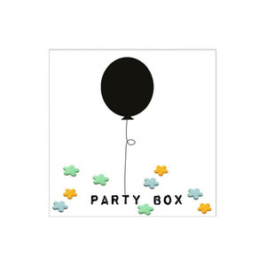 Throw and Grow 'Party-Box' - Wildblumen Konfetti - NIKO NIKO