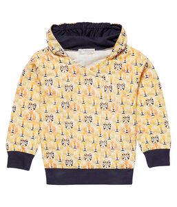 Jungen Sweatshirt mit Kapuze gelb Öko Sense Organics - sense-organics