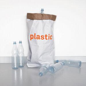 Altpapiersack plastic - Für Plastik - Kolor