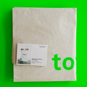 Altpapiersack Toys für Spielzeug - Kolor