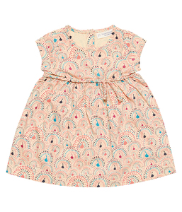 Mädchen Sommer Kleid gemustert Sense Organics - sense-organics