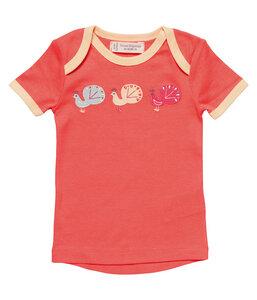 Mädchen T-Shirt koralle Bio Sense Organics - sense-organics