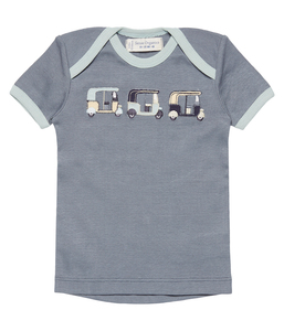 Jungen T-Shirt grau Bio Sense Organics - sense-organics