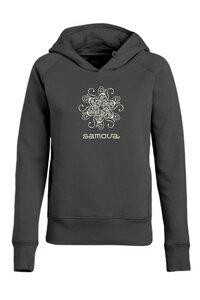 "Samova Damen Hoodie aus Bio-Baumwolle ""SHINE ON"" EDITION - samova"