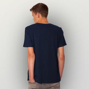 'Cowboy und Wal' Männer T-Shirt FAIRWEAR ORGANIC - shop handgedruckt