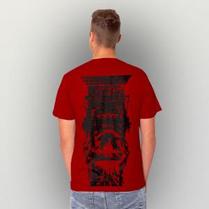 'Faun' Männer T-Shirt FAIRWEAR ORGANIC - shop handgedruckt
