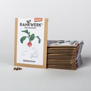Bio-Radieschen 'Rudi' (Demeter-Saat) - Rankwerk