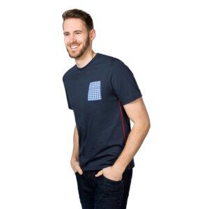 T-Shirt Rundhals mit Tasche - ben|weide