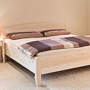 Einzel-/Doppelbett Silent - Massivholzbett' - 4betterdays