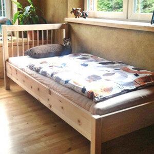 Einzelbetten/Betten aus Zirbel 'One & Only' - 90/200 - 4betterdays