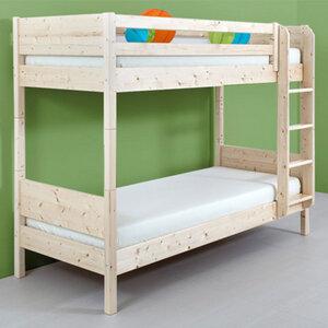 Hochbett aus Zirbenholz 90x200 cm - echte Handarbeit aus Südtirol - 4betterdays
